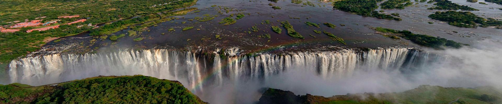Parque Nacional de Chobe com Cataratas Victoria