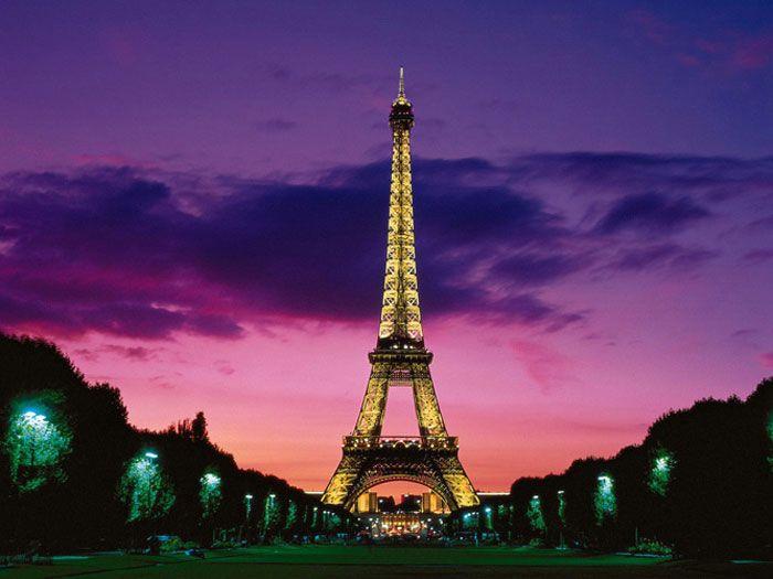 pacote de viagem para Paris
