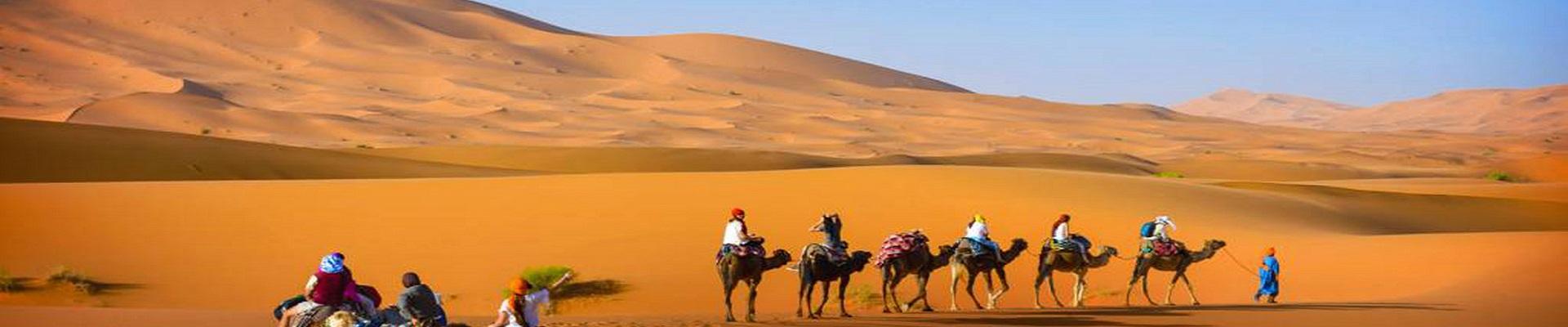 Oásis, Dunas e Deserto do Marrocos