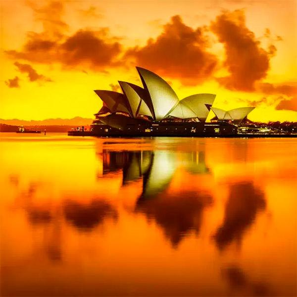 Imagem do paconte Austrália Espetáculo de Luzes