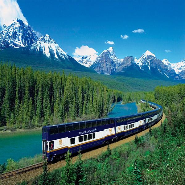 Imagem do paconte Costa Leste do Canadá em Trem