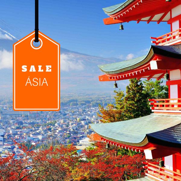 Imagem do paconte Grupo com Guia - China e Japão