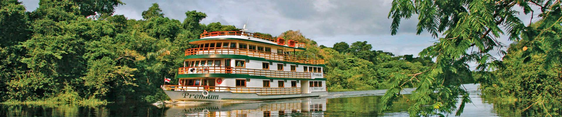 AMAZÔNIA – AMAZON CLIPPER – CRUZEIRO PELO RIO AMAZONAS – 5 DIAS