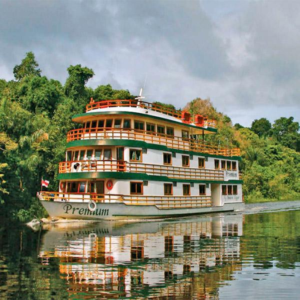Imagem do paconte AMAZÔNIA - AMAZON CLIPPER - CRUZEIRO PELO RIO AMAZONAS - 5 DIAS