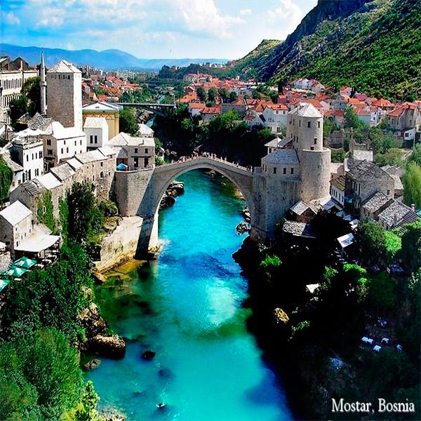 Imagem do paconte Grupo Eslovênia, Bósnia e Croácia