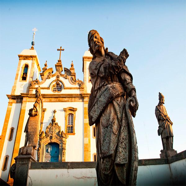 Imagem do paconte Cidades Históricas em Minas Gerais - Feriados
