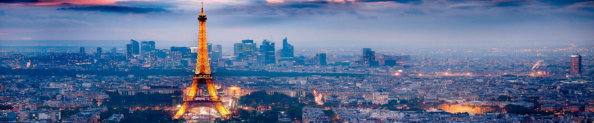 Pacote de Viagem – Paris Terrestre
