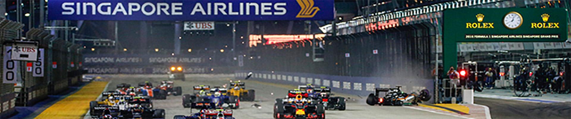 Pacotes de Viagem – GP de Singapura
