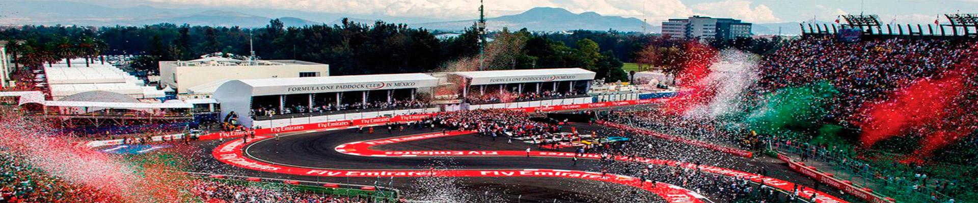 Pacote de viagem – GP México