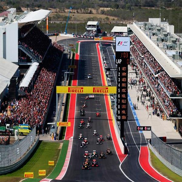 Imagem do paconte GP dos Estados Unidos - Austin