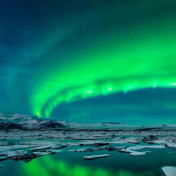 Imagem do paconte Islândia com observação da Aurora Boreal