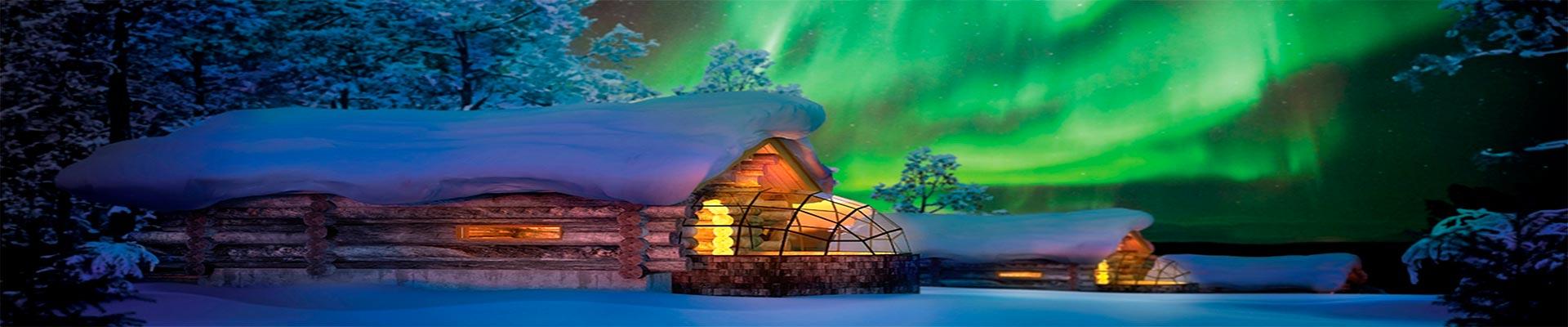 Pacote de Viagem – Lapônia com Terra do Papai Noel