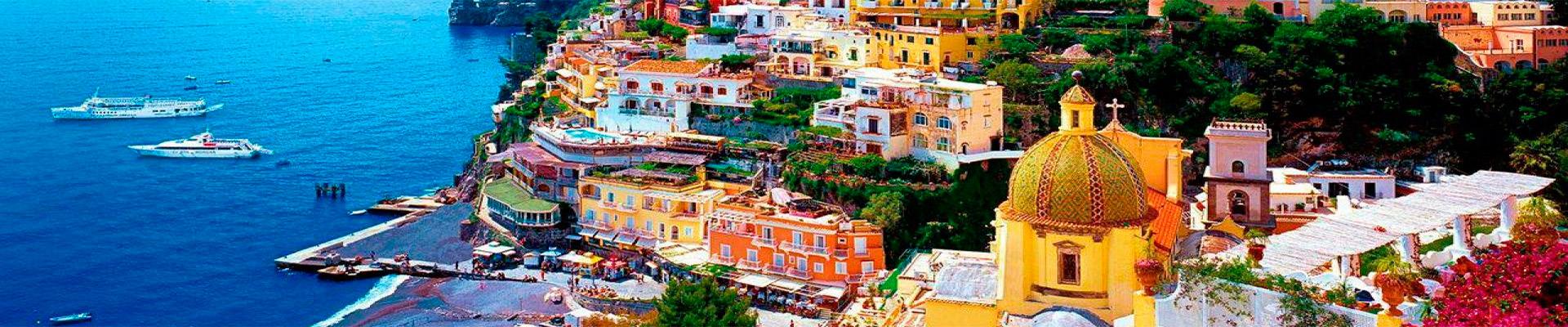 Pacote de Viagem – Roma e Costa Amalfitana