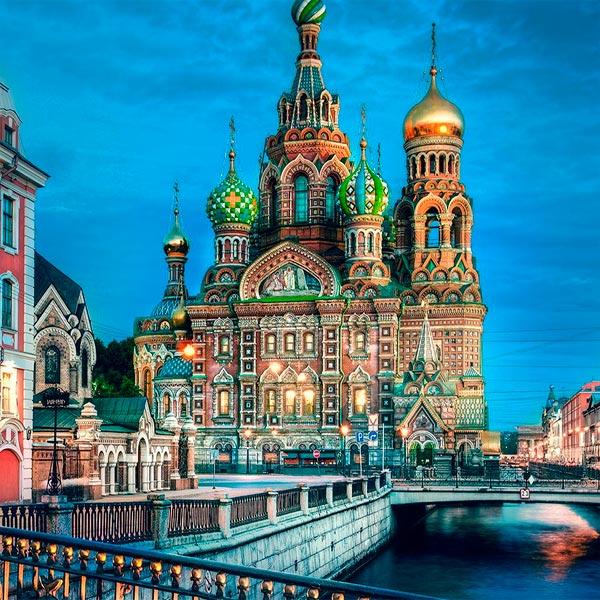 Imagem do paconte Grupo com Guia - Moscou e São Petersburgo