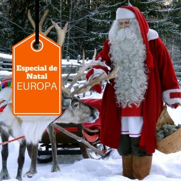 Imagem do paconte Natal com Papai Noel e Réveillon em Estocolmo