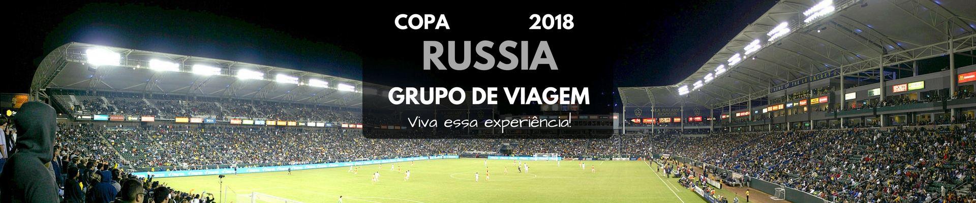 Imagem do paconte Grupo de Brasileiros - COPA na Rússia 2018
