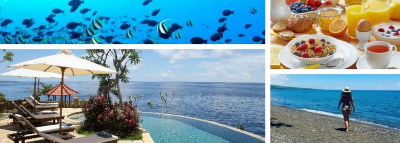 Dicas de Turismo em Bali - onde ficar em Amed