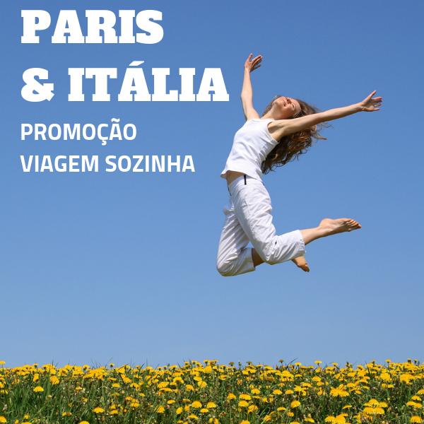 Imagem do pacote Viaje Sozinha, Pague Duplo - Paris com Itália