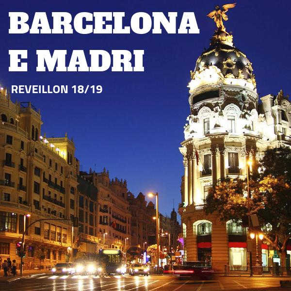 Imagem do paconte Reveillon na Espanha - Madri e Barcelona