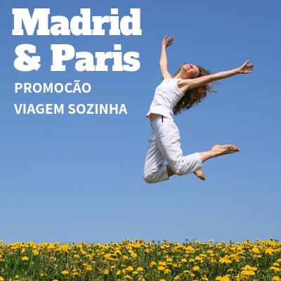 Imagem do pacote Viaje Sozinha, Pague duplo - Madri com Paris